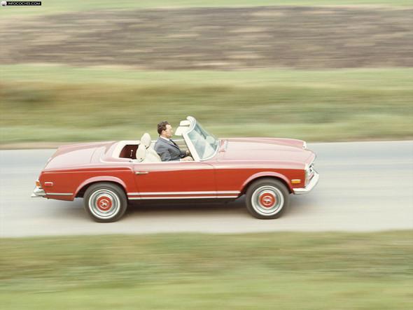 "Mercedes-Benz SL (W 113, ""Pagode"") - (Mercedes Benz, Porsche)"