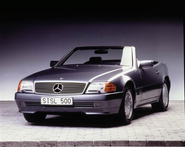 Mercedes-Benz SL (R 129) - (Mercedes Benz, Porsche)