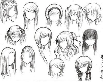 Haare Zeichnen Von Vorne Moderne Mannliche Und Weibliche