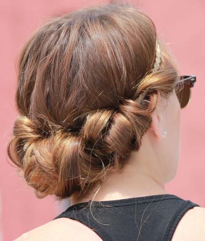 Ballfrisur kurze haare