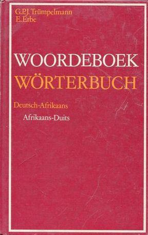 Wörterbuch Deutsch-Afrikaans - (Sprache, Afrikaans)