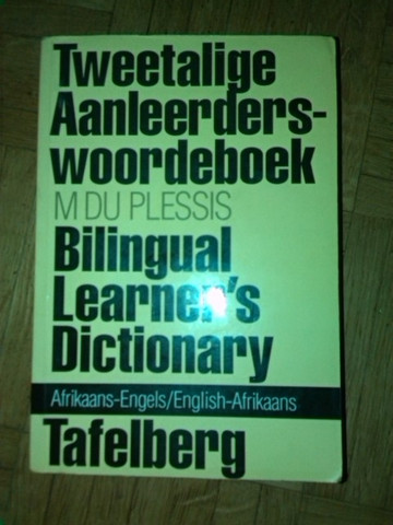 Erklärendes Wörterbuch Afrikaans - Englisch - (Sprache, Afrikaans)