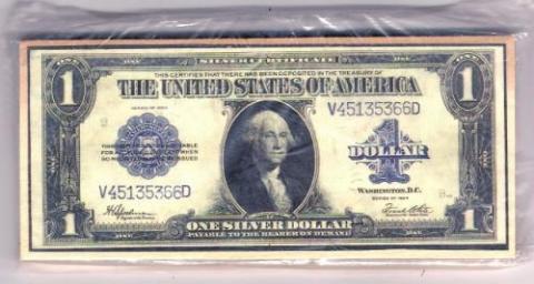 - (Silber-Dollar)