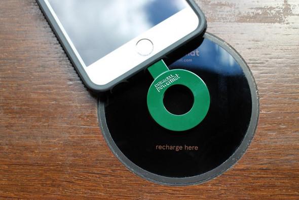 induktives aufladen f rs ganze zimmer handy smartphone. Black Bedroom Furniture Sets. Home Design Ideas