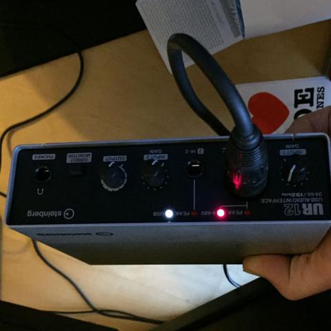 Von vorne - (Computer, Mikrofon, Rode NT1-a)