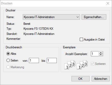 Druckeinstellungen im Firefox - (Drucker, Firefox, Chrome)