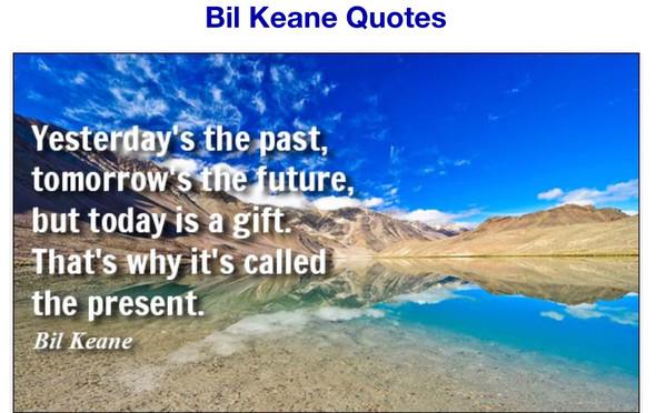 quote Bil Keane - (Englisch, english)