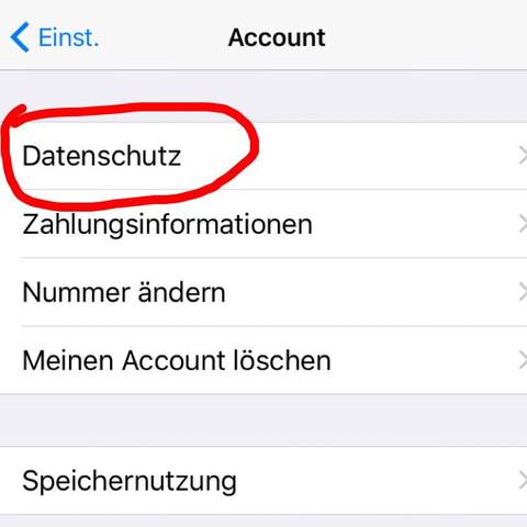 Whatsapp profilbild löschen geht nicht