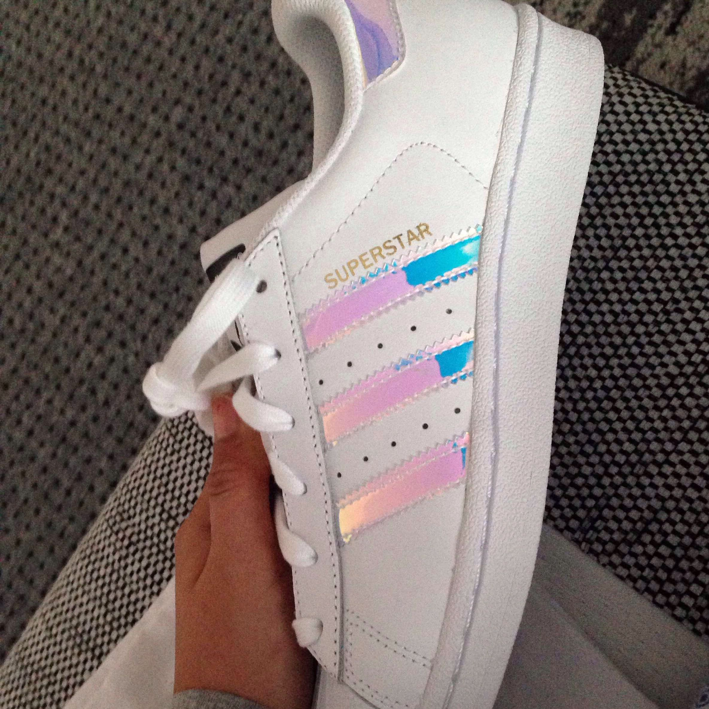 adidas superstar glitzer kinder