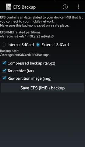 Imei Efs Backup Auf Dem Android Handy Pc Internet Smartphone