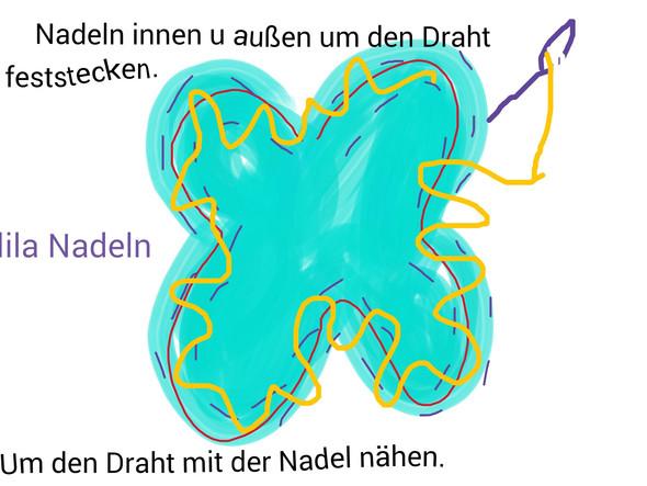 Schritt 5 - (Flügel, beweglich)