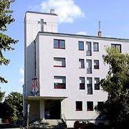 Neuapostolische Kirche in Mannheim,Moselstraße  - (Religion, Christentum, NAK)