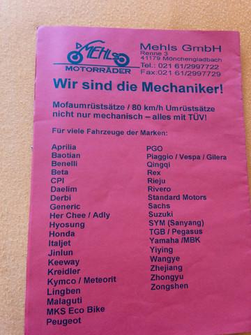 - (Technik, Motorrad, Roller)