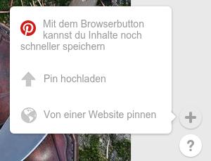 Pinterest-Menü - (Foto, veröffentlichen, selber)