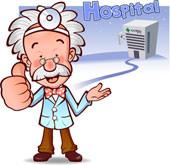 Gesundwerdedaumen hoch! - (Gesundheit, Medizin, Arzt)