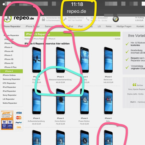 Iphone 6s Ins Wasser Gefallen Kein Ton Mehr