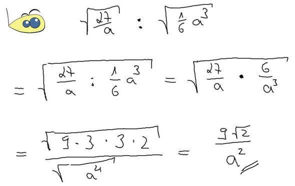 Aufgabe gezeigt - (Mathe, Mathematik, Wurzel)