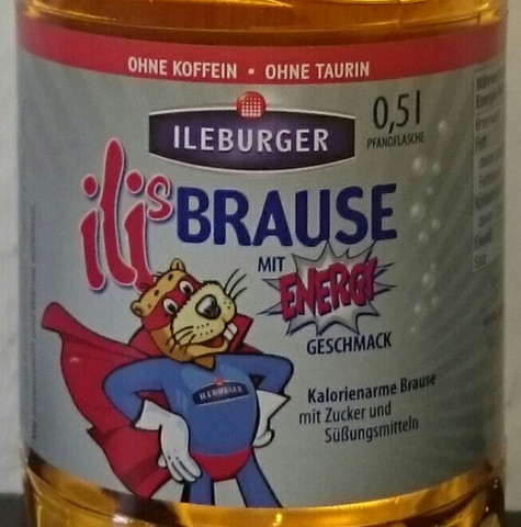 Ilis Energy Brause Etikett - (Gesundheit, Jugend, trinken)