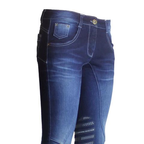 Jeansreithose 😉 - (reiten, Jeans, gelaende)