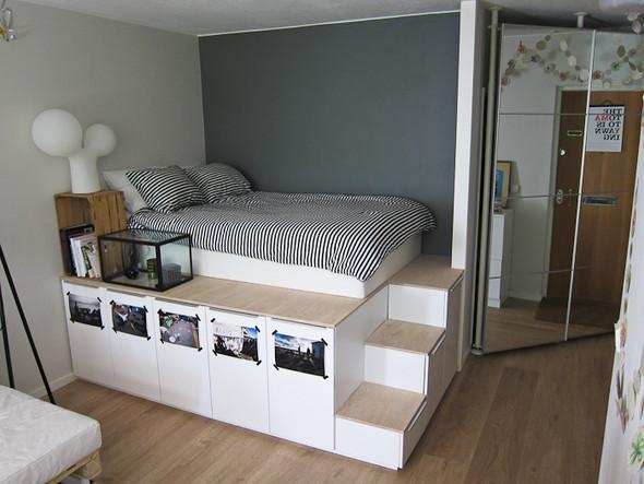 - (Bett, IKEA, DIY)