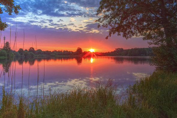 - (Kamera, Sonnenuntergang)