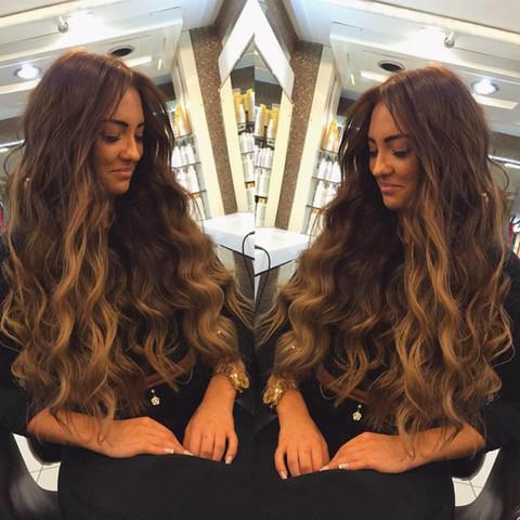 Haarverlängerung Microrings Extensions Haarverlaengerung