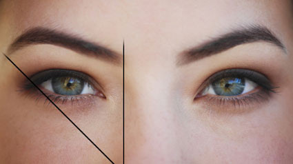 da :)  - (Augen, Augenbrauen)