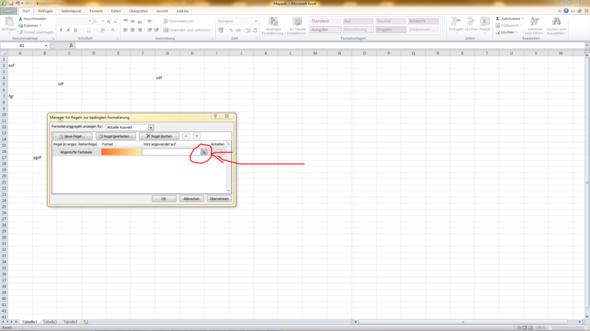 - (Excel, Formatierung)