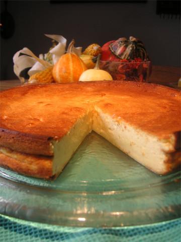 Käsekuchen ohne Boden - (Kochen, Rezept, backen)