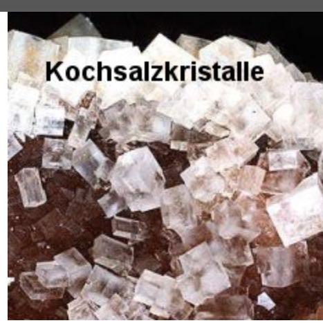 Kristall  - (Schule, Chemie)