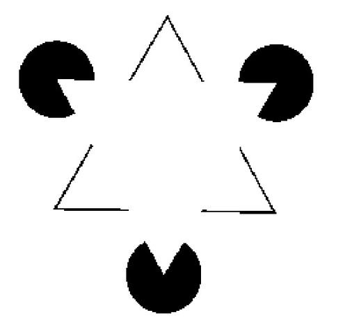 Siehst Du auch das weiße Dreieck...? - (Schlaf, Mond)