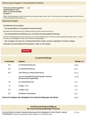 """Berechnung online zeigt """"Krankenkassenbeitrag"""" - (Gehalt, Krankenkasse, Lohn)"""