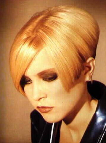 Neue Frisur Pixie Cut Haare Veränderung
