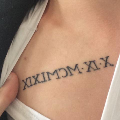 Tattoo Geburtsdatum Kreative Vorschlage