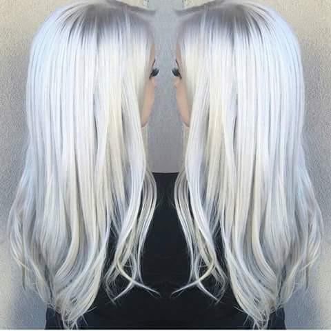 Wunschhaare - (Haare, färben, weiße Haare)