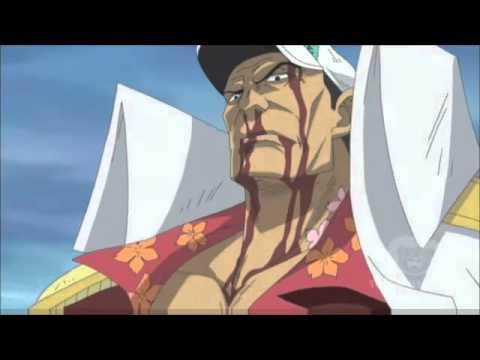 Hier war die Endform von Akainu als er gegen Whitebeard gekämpft hatte - (One Piece, Rayleigh)