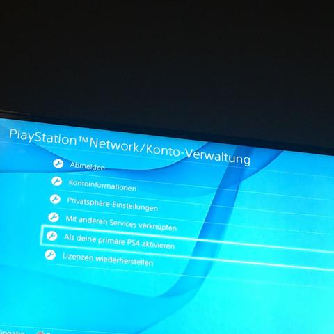 Einstellung PlayStation Network Konto Verwaltung  - (Fifa, Fifa 17)