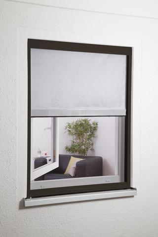 Insektenschutz-Rollo mit Fliegengitter - (Haus, Sonnenschutz, Fliegengitter)