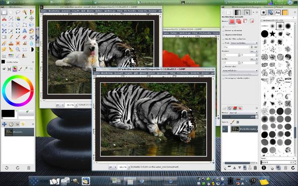 Gimp Mehrfenstermodus - (Internet, kostenlos, Fotografie)
