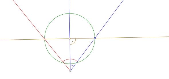 Skizze - (Mathe, Winkelhalbierende)