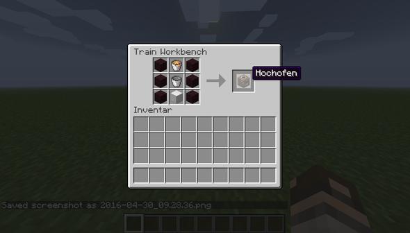 Hochofen - (Minecraft, Machen, Hochofen)