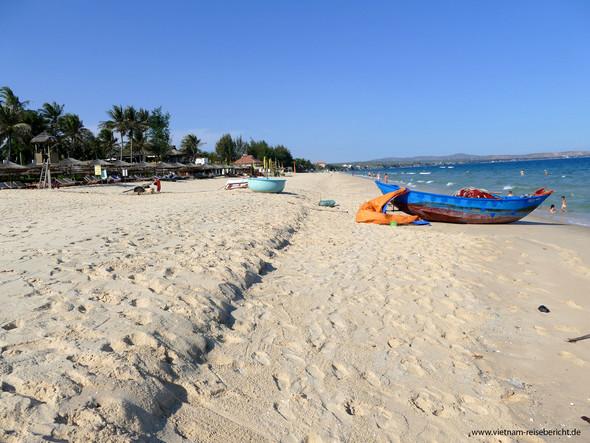 Der Strand in Mui Ne - (Freizeit, Urlaub, Ratgeber)