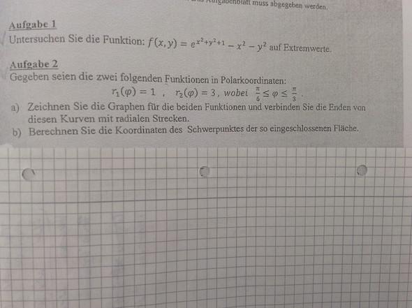 Aufgabe 2 - (Mathe, Studium, Mathematik)