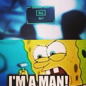 I'M A MAN - (Youtube, Facecam)