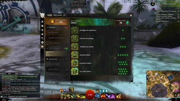 Beherrschungen - (Level, Ausrüstung, guild-wars-2)
