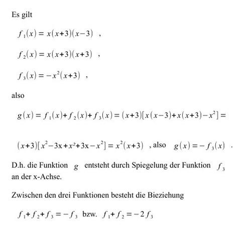 Funktion g - (Mathematik, Kurvendiskussion)