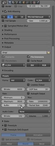 - (Intro, Format, Blender)