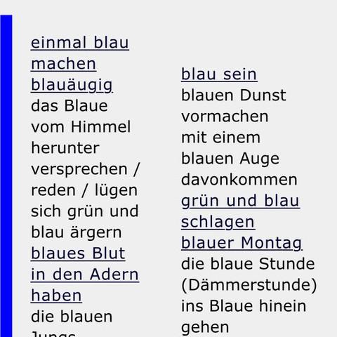 Bild 1 - (Kunst, kreativ, blau)