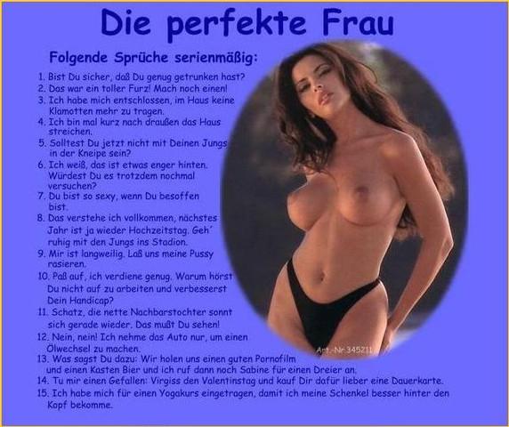 Die perfekte Frau - (Liebe, Beziehung, Mädchen)