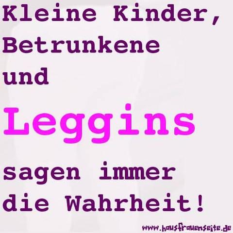 Leggins - (Frauen, Attraktivität, Leggings)